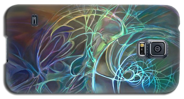 Galactic Textures Galaxy S5 Case