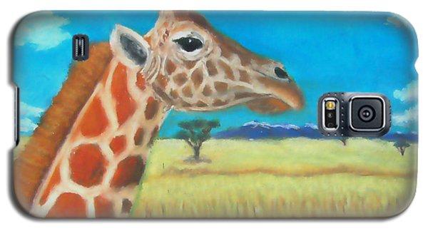 Giraffe Dreaming Galaxy S5 Case