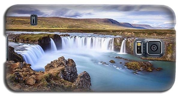 Godafoss Waterfall Galaxy S5 Case