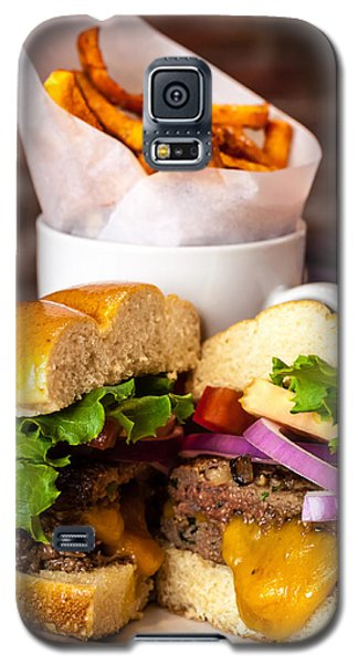 Gourmet Pub Hamburger Galaxy S5 Case