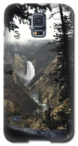 Grand Canyon Of The Yellowstone-signed Galaxy S5 Case