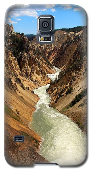 Grand Canyon Of Yellowstone Galaxy S5 Case