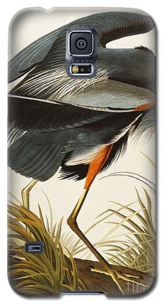 Audubon Galaxy S5 Case - Great Blue Heron by John James Audubon