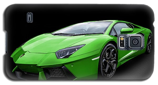 Green Aventador Galaxy S5 Case