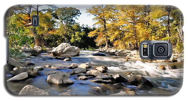 Galaxy S5 Case featuring the photograph Guadalupe River  by Savannah Gibbs