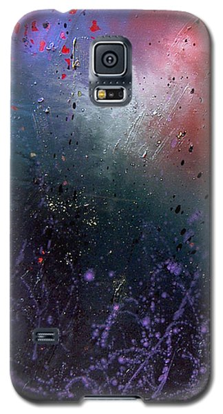 Galaxy S5 Case featuring the painting Happiness by Min Zou