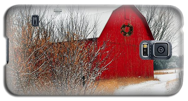 Galaxy S5 Case featuring the photograph Happy Holidays by Terri Gostola