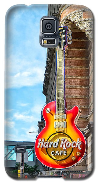 Hard Rock Cafe Guitar Galaxy S5 Case