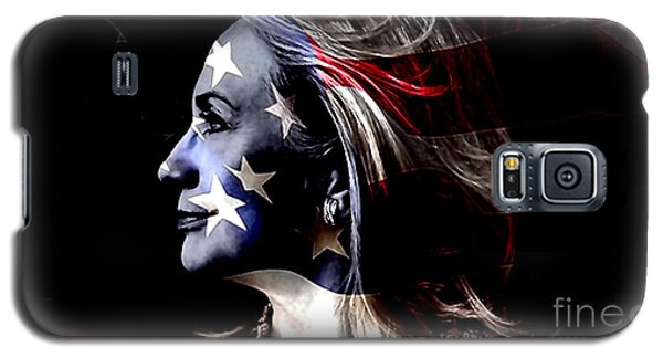 Hillary 2016 Galaxy S5 Case by Marvin Blaine