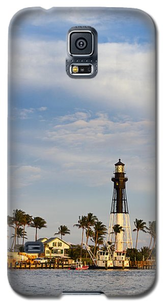 Hillsboro Inlet Lighthouse Galaxy S5 Case by Les Palenik