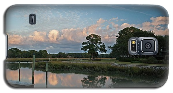 Galaxy S5 Case featuring the photograph Hilton Head Island Lan 370 by G L Sarti