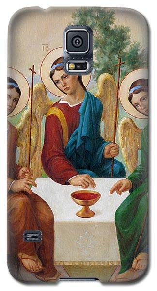 Holy Trinity - Sanctae Trinitatis Galaxy S5 Case by Svitozar Nenyuk