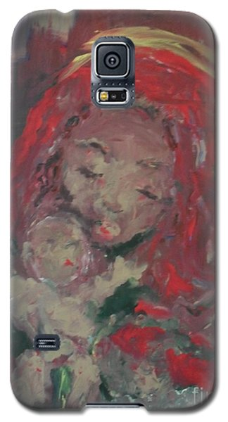 Galaxy S5 Case featuring the painting Hope  by Laurie L