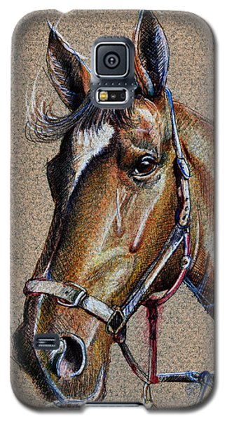 Horse Face - Drawing  Galaxy S5 Case