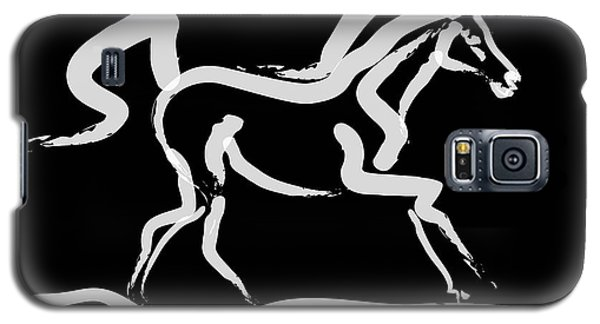 Horse-runner Galaxy S5 Case by Go Van Kampen