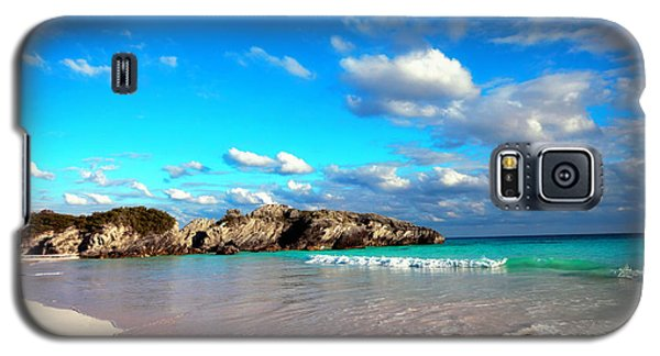 Horseshoe Bay In Bermuda Galaxy S5 Case by Charline Xia