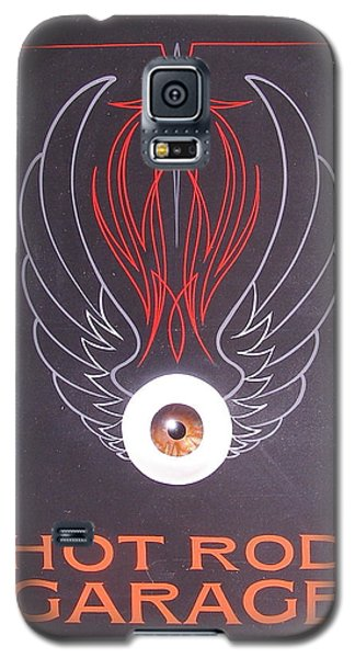 Hot Rod Garage Galaxy S5 Case