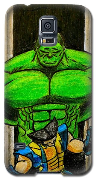 Hulk Vs Wolverine Galaxy S5 Case