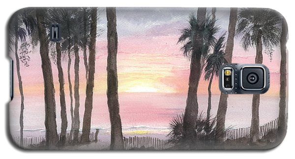 Hunting Island Sunrise Galaxy S5 Case by Joel Deutsch
