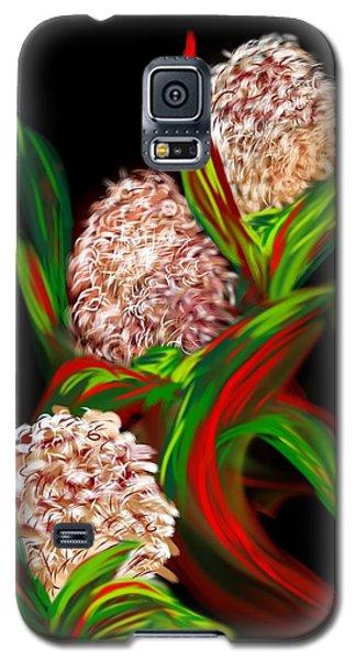 Galaxy S5 Case featuring the digital art Hyacinth by Christine Fournier