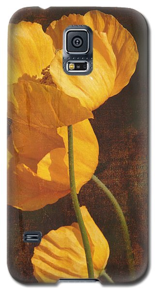 Icelandic Poppy Galaxy S5 Case