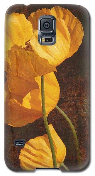 Icelandic Poppy Galaxy S5 Case by Bellesouth Studio