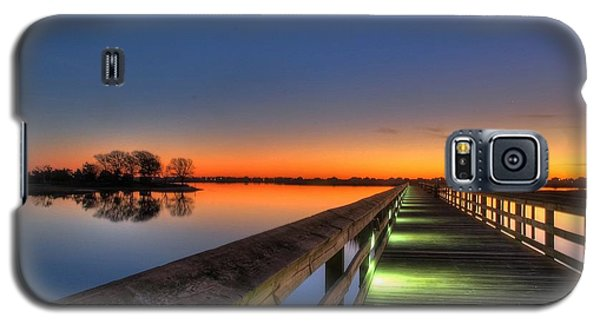Inlet Sunrise Galaxy S5 Case by Ed Roberts