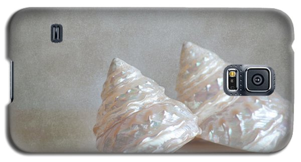 Galaxy S5 Case featuring the photograph Iridescent Shells by Aiolos Greek Collections