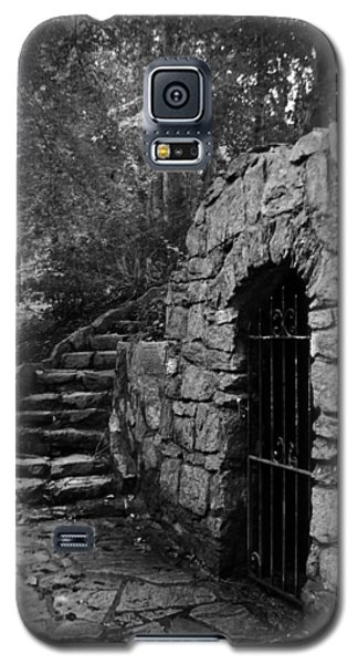 Iron Door In A Garden Galaxy S5 Case