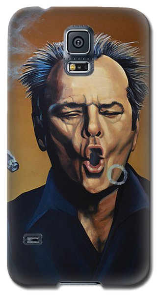 Jack Nicholson Painting Galaxy S5 Case