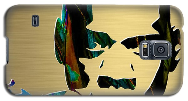 Jay Z Gold Series Galaxy S5 Case by Marvin Blaine