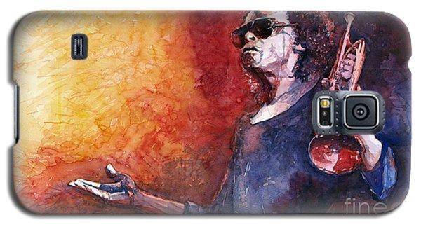 Portret Galaxy S5 Case - Jazz Miles Davis by Yuriy Shevchuk