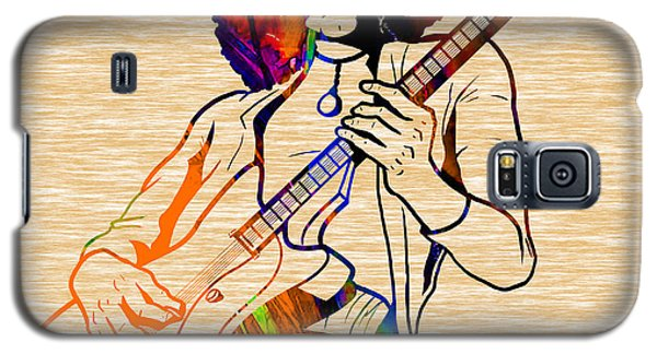 Jimmy Page Collection Galaxy S5 Case by Marvin Blaine