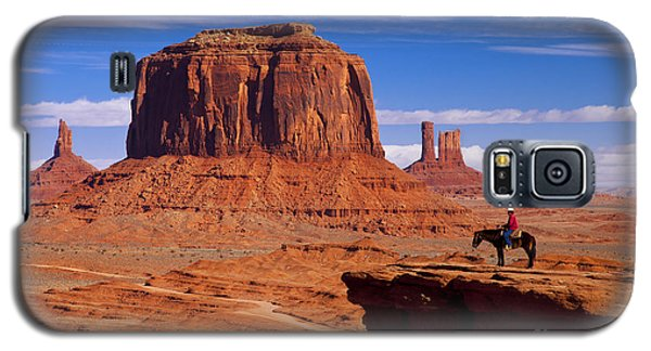 John Ford Point Monument Valley Galaxy S5 Case