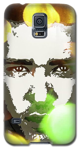 Galaxy S5 Case featuring the digital art Justin Timberlake by Svelby Art