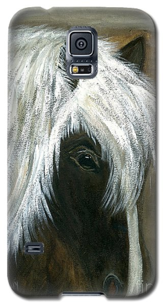 Galaxy S5 Case featuring the painting Kola by Barbie Batson