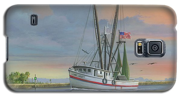 Lady Liberty Galaxy S5 Case by Mike Brown