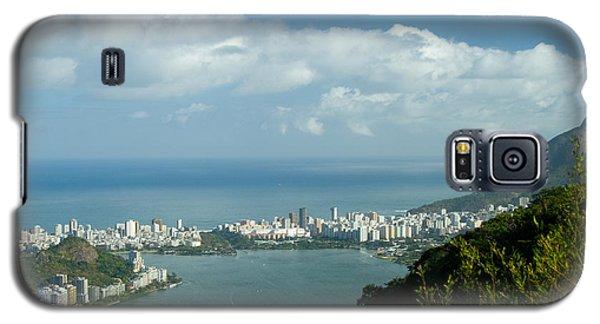 Lagoa Rodrigo De Freitas In Rio De Janeiro Galaxy S5 Case