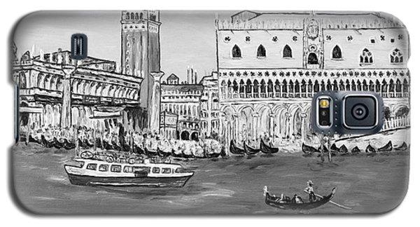Galaxy S5 Case featuring the painting Laguna by Loredana Messina