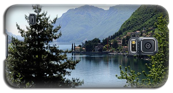 Lake Como Italy  Galaxy S5 Case by Haleh Mahbod