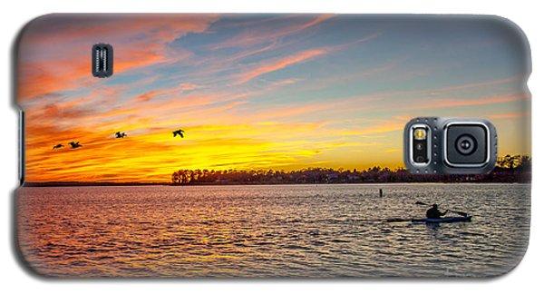 Lake Murray Fisherman Galaxy S5 Case