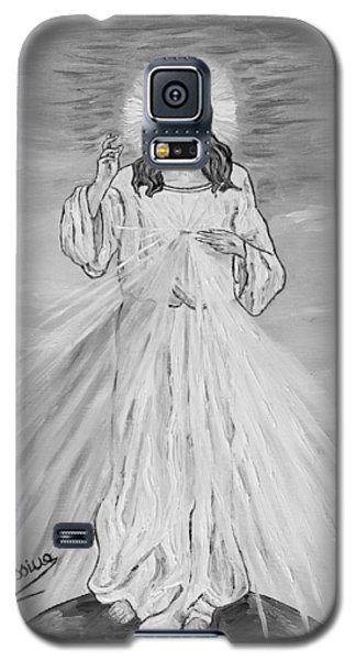 Galaxy S5 Case featuring the painting L'amore by Loredana Messina