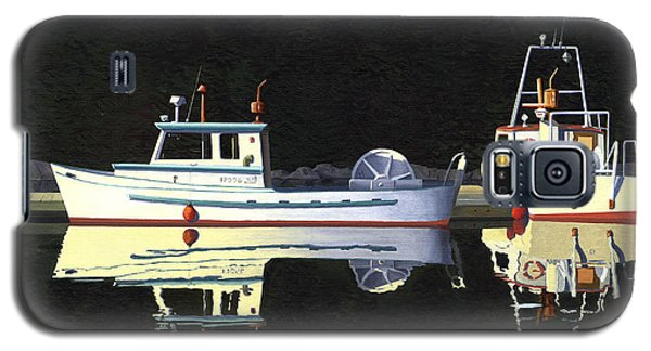 Last Light  Island Moorage Galaxy S5 Case by Gary Giacomelli