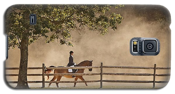 Galaxy S5 Case featuring the photograph Last Ride Of The Day by Joan Davis