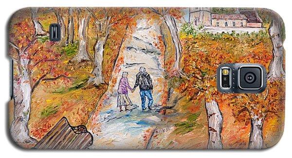 L'autunno Della Vita Galaxy S5 Case by Loredana Messina