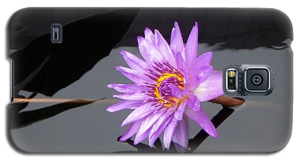 Lavender Lily Galaxy S5 Case