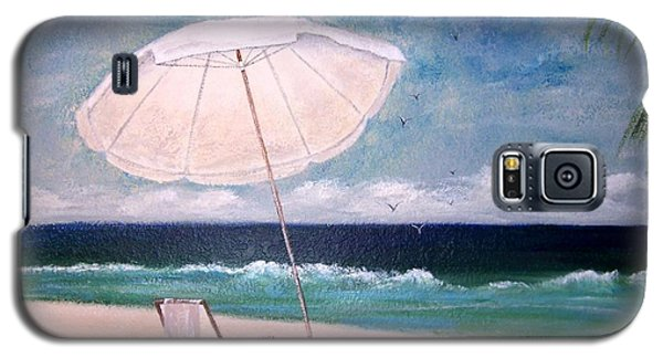 Galaxy S5 Case featuring the painting Lazy Day by Jamie Frier
