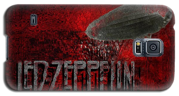 Led Zeppelin Galaxy S5 Case by Jack Zulli