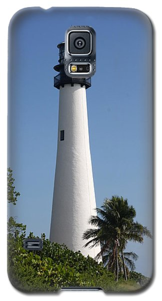 Galaxy S5 Case featuring the photograph Ligthouse - Key Biscayne by Christiane Schulze Art And Photography