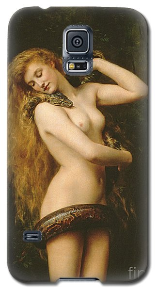 Brown Snake Galaxy S5 Case - Lilith by John Collier